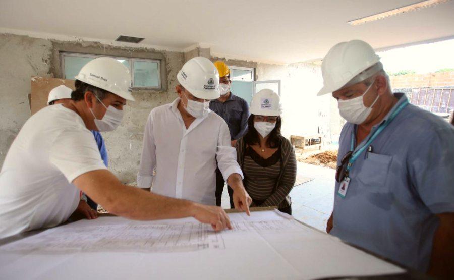 Sarto visita obras do novo Gonzaguinha e institui comitê para prevenir a violência
