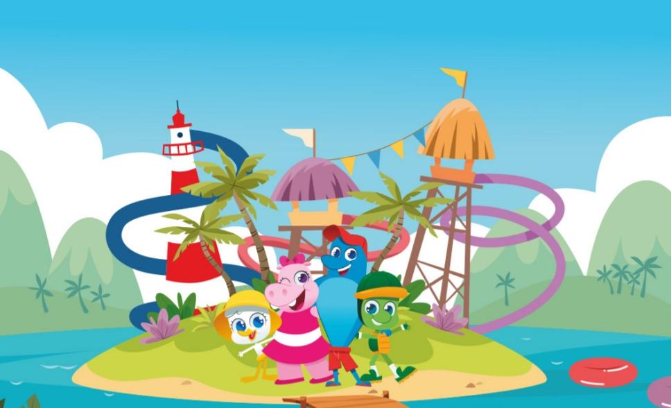 Beach Park disponibiliza material lúdico para divertir as crianças em casa