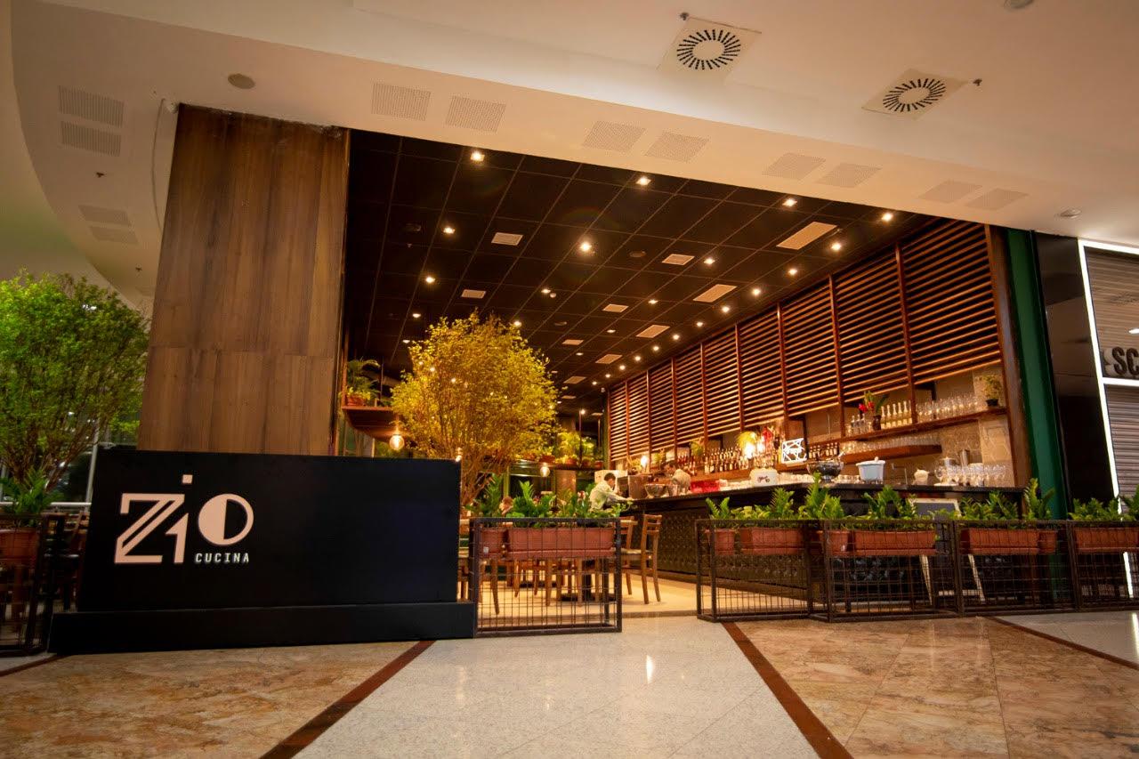 BS Design recebe nova unidade do restaurante italiano Zio Cucina