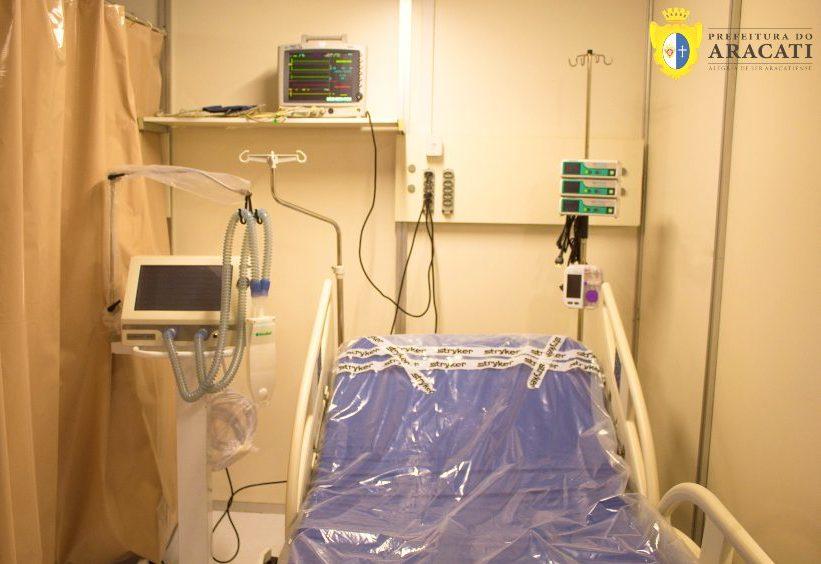 Bismarck Maia anuncia a instalação de dez UTIs no Hospital Municipal de Aracati