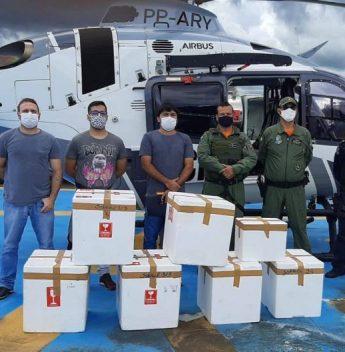 Governo do Ceará recebe 38 mil unidades de vacinas para acelerar a segunda dose