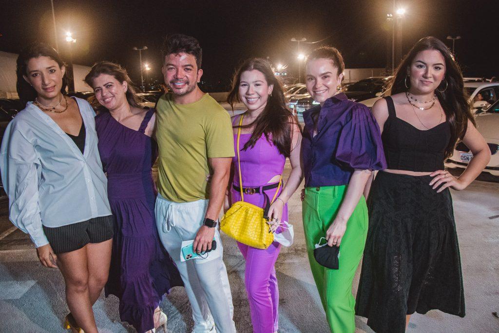 Vanessa Tatila, Elaine Medeiros, Rafa Gualberto, Maria Clara Negrao, Sheila Brasil E Taina Lima (1)