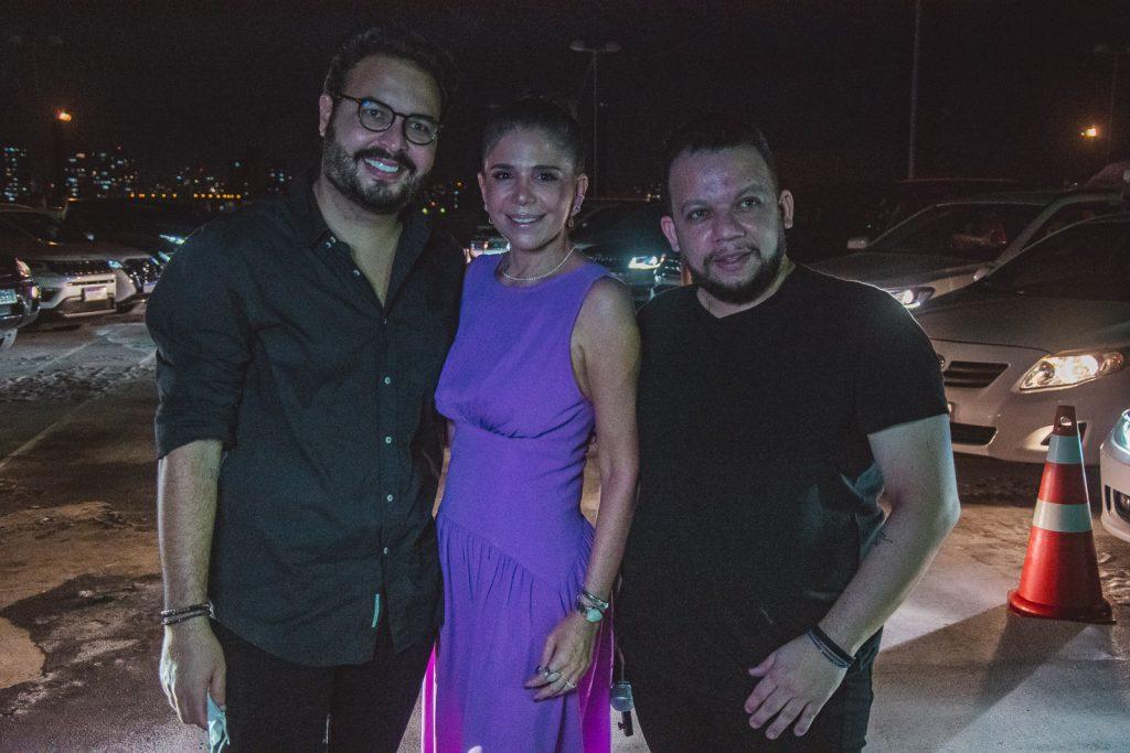 Vinicius Machado, Maria Lucia Negrao E Roberto Alves