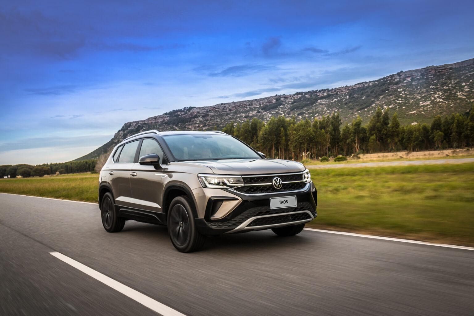 Com o Taos lançado, Volkswagen completa sua família de SUVs