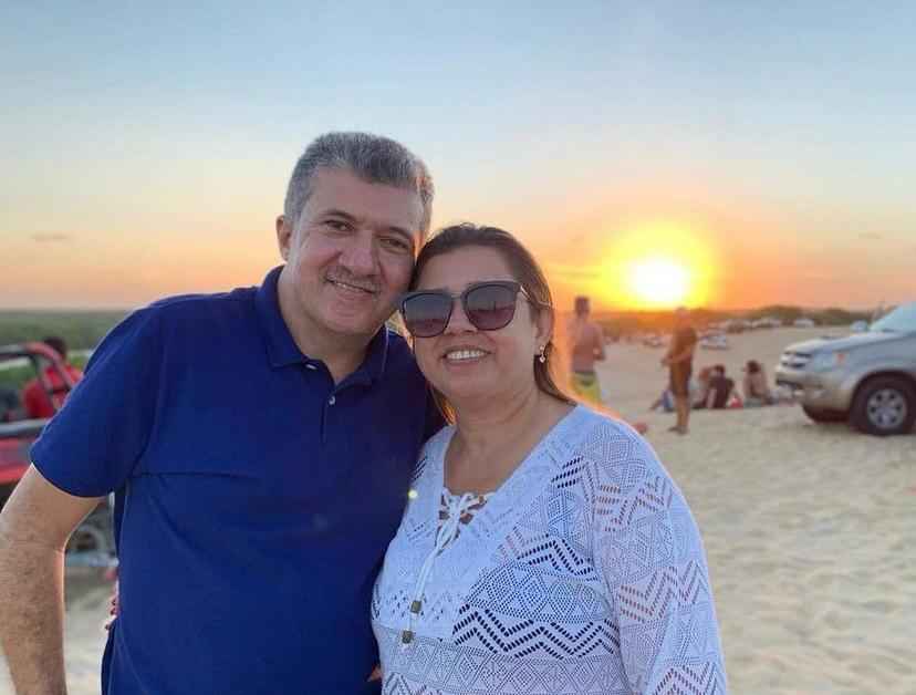 Antônio Henrique celebra a nova idade da esposa, Edileusa Bandeira