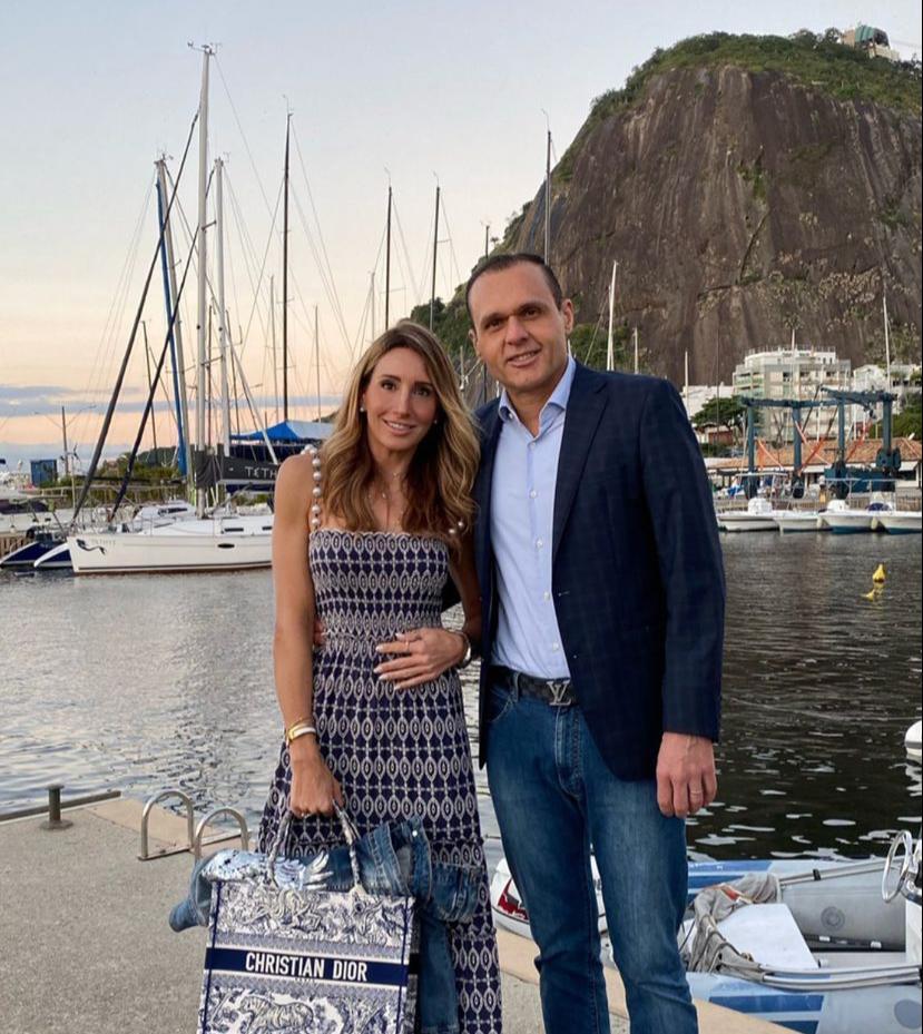 Melaine e Eduardo Diogo curtem o Rio de Janeiro em total sintonia