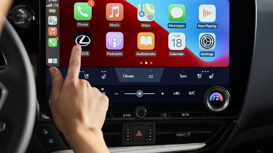 Com tela de 14 polegadas, Toyota lança novo sistema multimídia