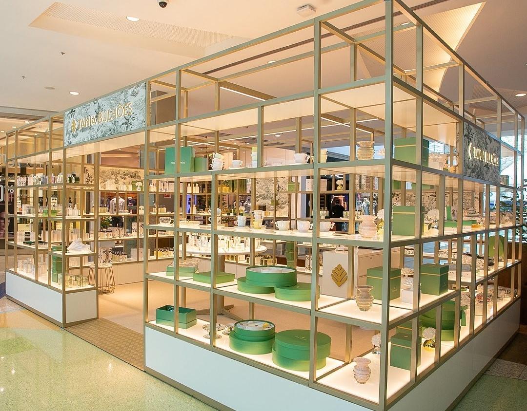 Em processo de expansão, Tania Bulhões inaugura gazebo no Shopping Iguatemi Fortaleza