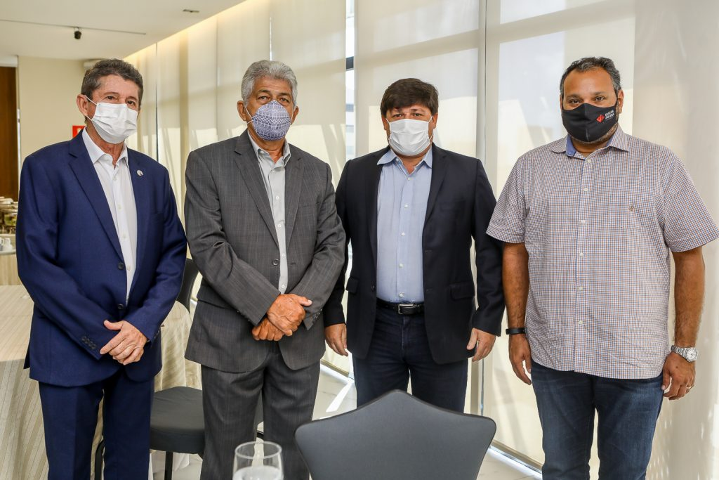 Agostinho Carneiro, Lelio Matias, George Lima E Patriolino Dias (1)