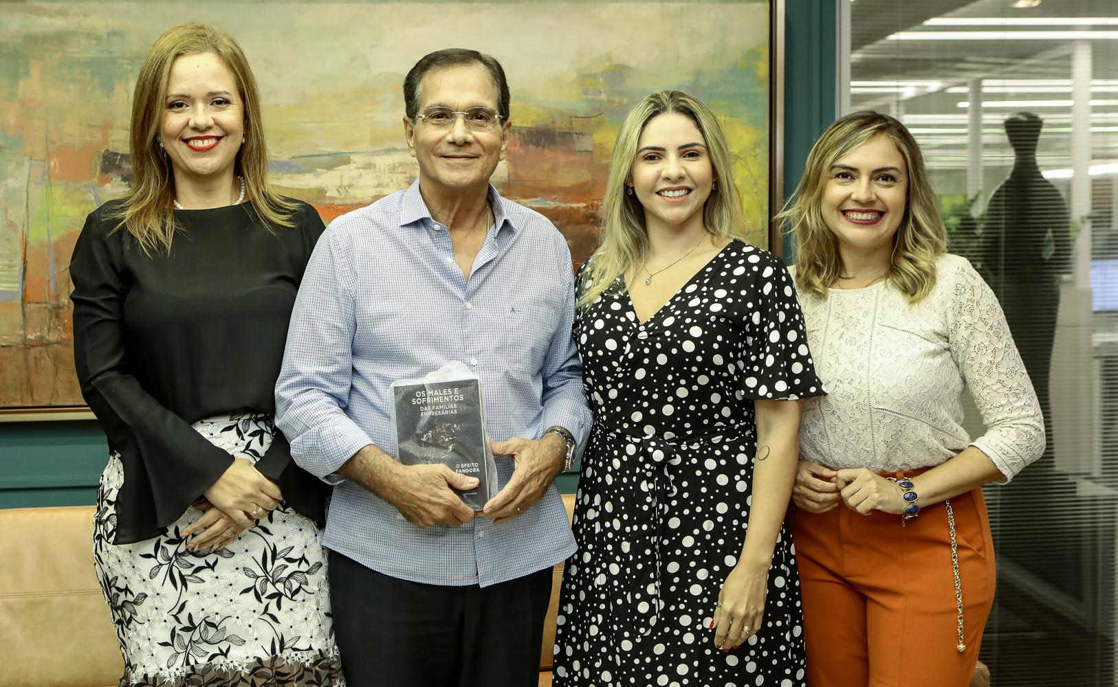 Aletéia Lopes, Mônika Vieira e Rafaelle Sobreira pilotam evento especial no BS Design