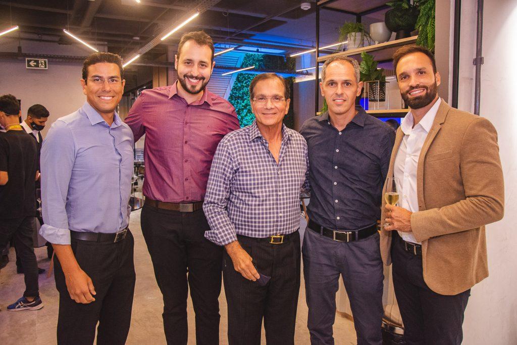 Arthur Lidio, Lucas Castro, Beto Studart, Guilherme Pequeno E Eduardo Hamdan