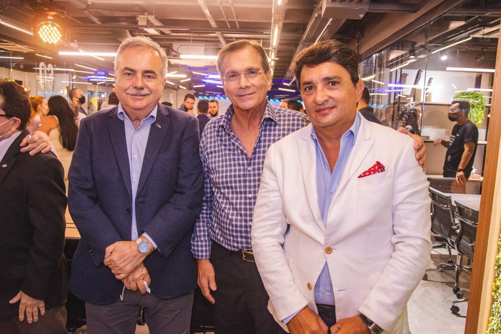 Assis Cavalcante, Beto Studart E Eduardo Gomes De Matos