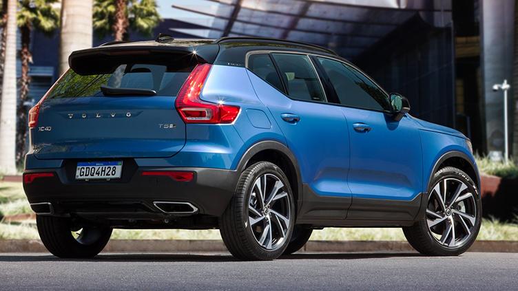 Vendas de importados cresceram 20% com o XC 40, da Volvo, liderando segmento
