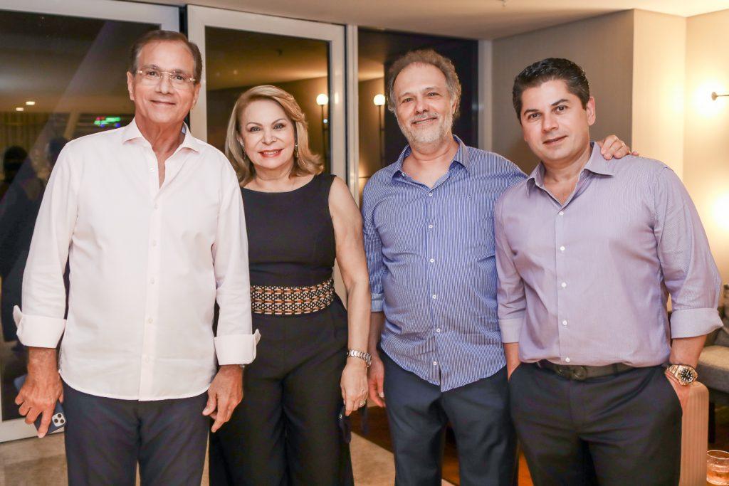 Beto Studart, Iracema Do Vale, Jose Carlos Pontes E Pompeu Vasconcelos (2)