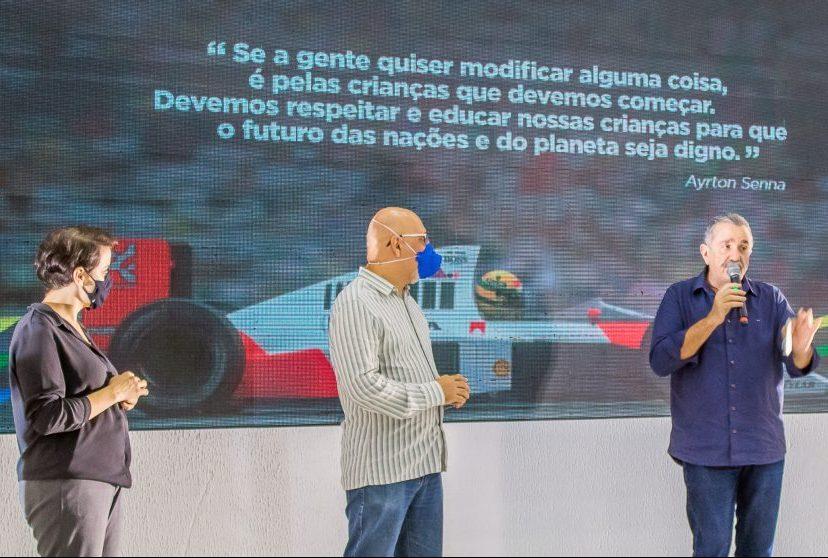 Prefeitura do Aracati dá início à parceria educacional com o Instituto Ayrton Senna