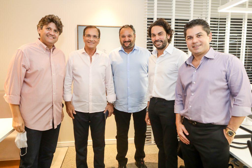 Bruno Girao, Beto Studart, Patriolino Dias, Claudio Vale E Pompeu Vasconcelos (1)