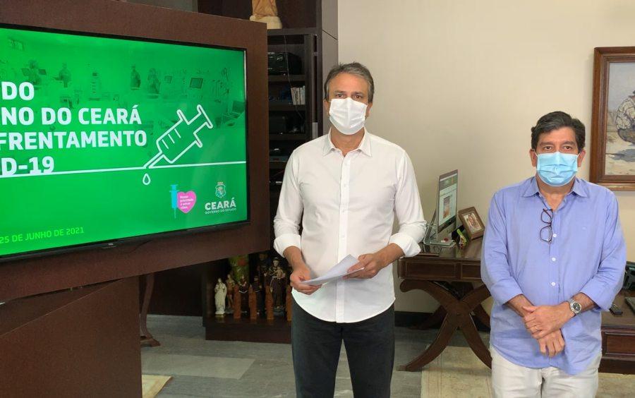 Camilo libera aulas presenciais no ensino superior, feiras livres e anuncia avanço na flexibilização da macrorregião do Cariri