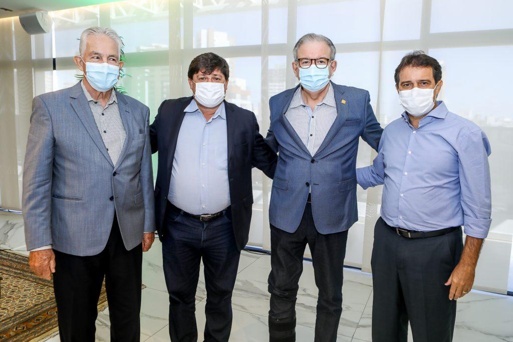 Carlos Prado, George Lima, Ricardo Cavalcante E Evandro Leitao (2)