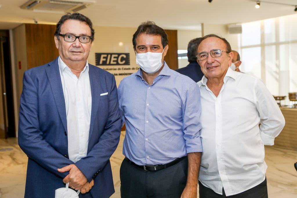Carlos Rubens, Evandro Leitao E Marcos Montenegro
