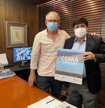Deputado George Lima visita o Observatório da Indústria da Fiec
