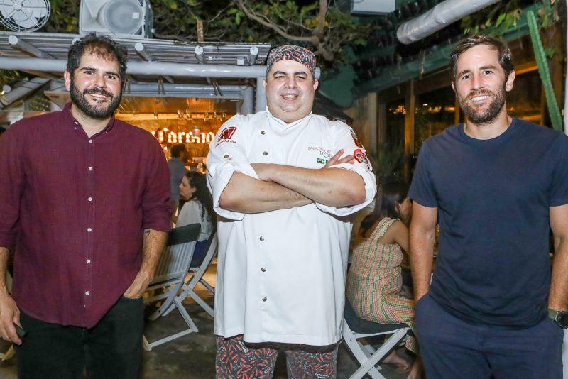 Eduardo Catelao, Jaquesson Dichoff E Rodrigo Frota