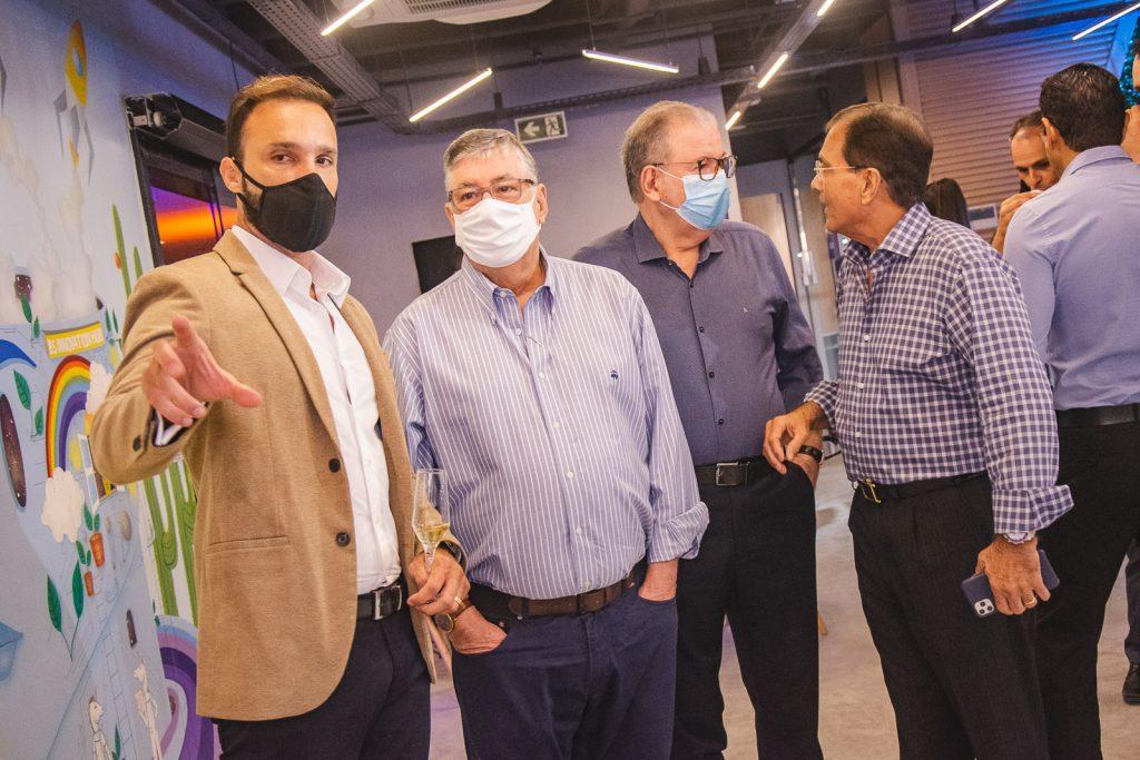 Eduardo Hamdan, Maia Junior, Ricardo Cavalcante E Beto Studart