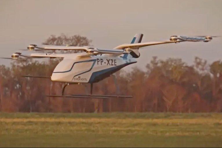 Embraer afirma ter encomenda de 200 veículos aéreos urbanos para dois países