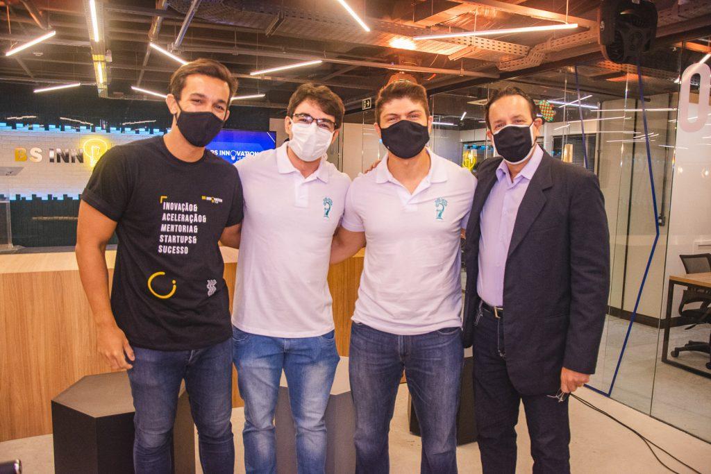 Fabio Machado, Luis Holanda, Jonatas Brito E Sergio Nogueira