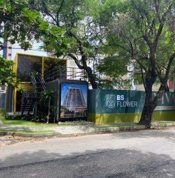 Inspirada nas tradições juninas, BSPAR promove ação no stand do BS Flower