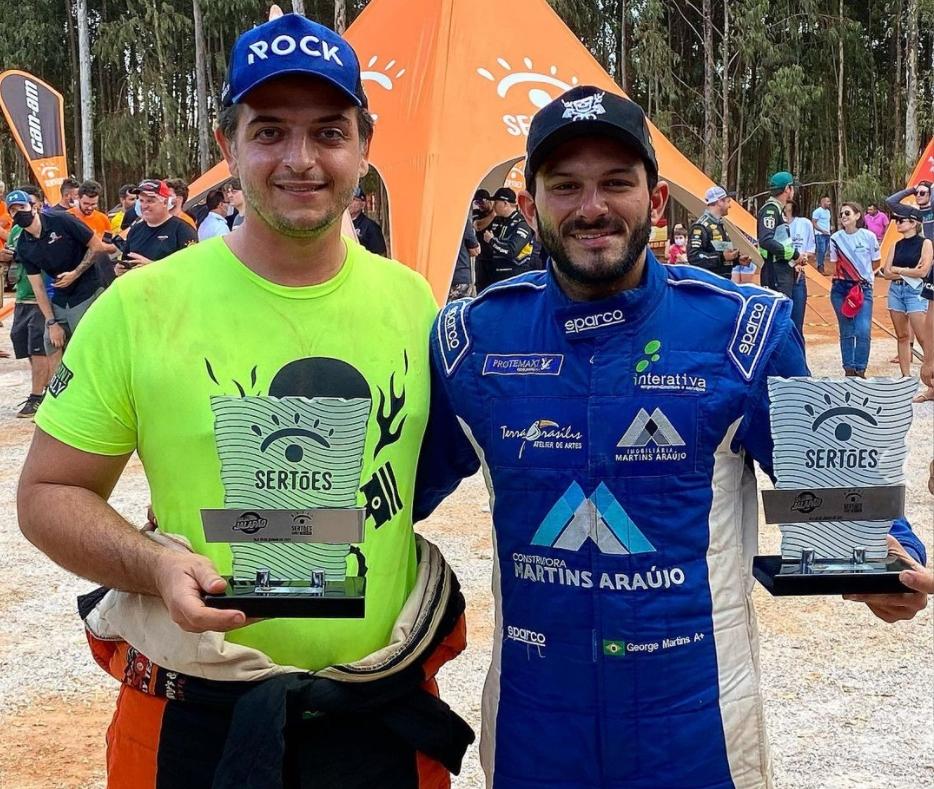 George Martins completa o circuito do 7º Rally Jalapão/Sertões