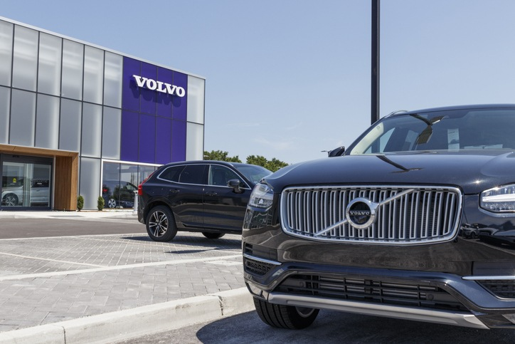 Volvo Car And Suv Dealership. Volvo Is A Subsidiary Of The Chinese Automotive Company Geely Iii