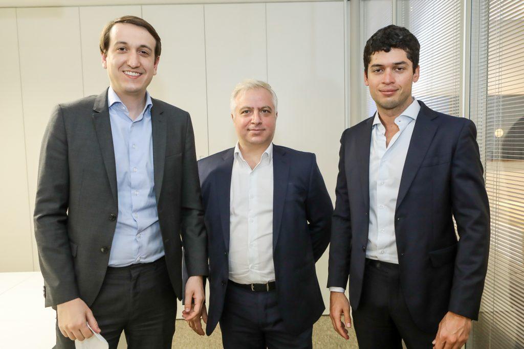 Jonatans Ortega, Jose Castiel E Yuri Kibel