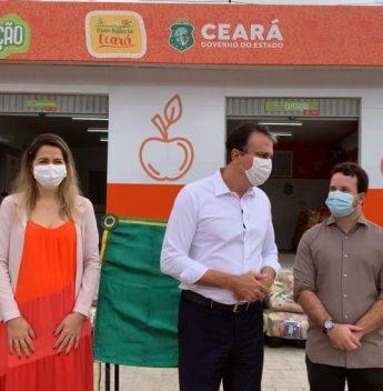 Camilo e Onélia Santana entregam nova fábrica do Mais Nutrição, em Barbalha