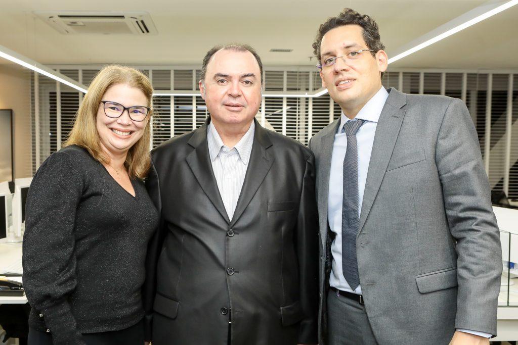 Marcia Matos, Marcelo Lucena E Jader Maranhao