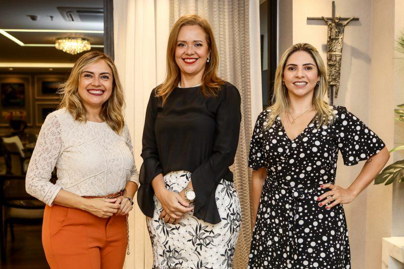 As Especialistas - Aletéia Lopes, Mônika Vieira e Rafaelle Sobreira pilotam evento especial no BS Design
