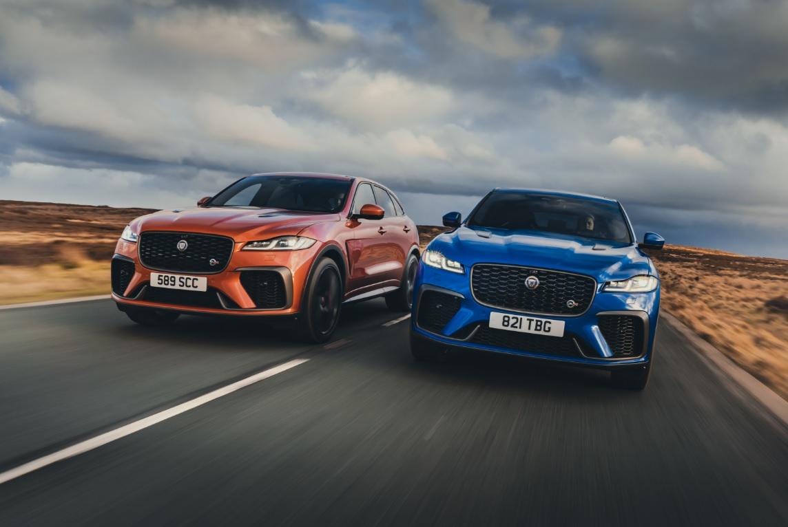 Novo Jaguar F-Pace tá na área, com novo visual e mudanças significativas no interior