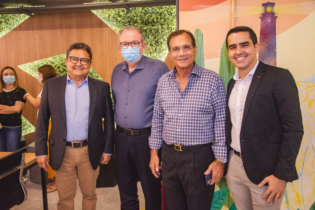 Oscivaldo Fernandes, Ricardo Cavalcante, Beto Studart E Gregory Bevilaqua