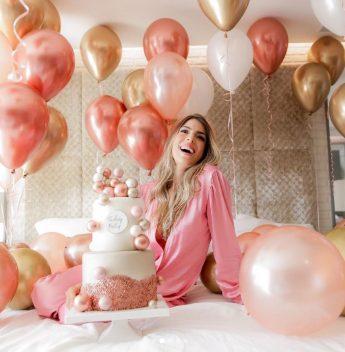 Patrícia Santiago celebra a nova idade com muito alto astral e alegria