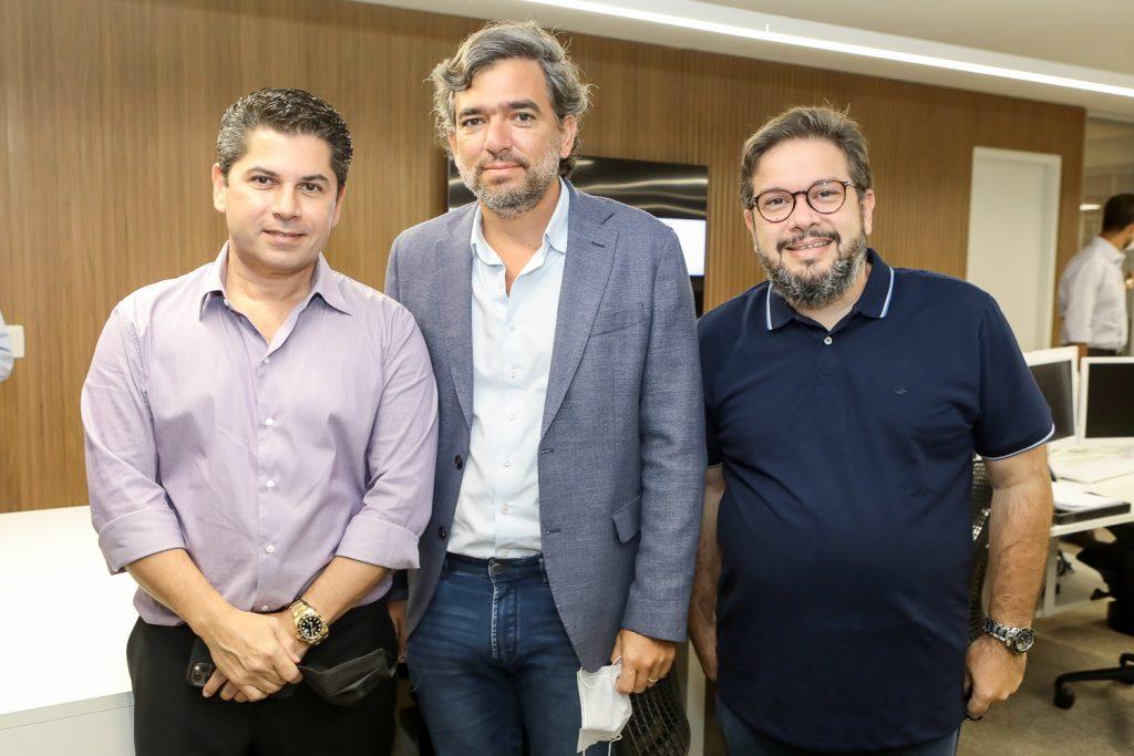 Pompeu Vasconcelos, Marcelo Franco E Chico Vale
