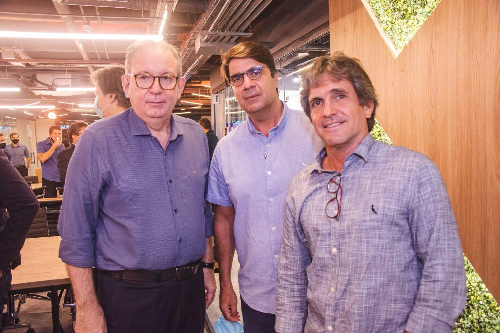 Ricardo Cavalcante, Marcelo Castro E Adalberto Machado