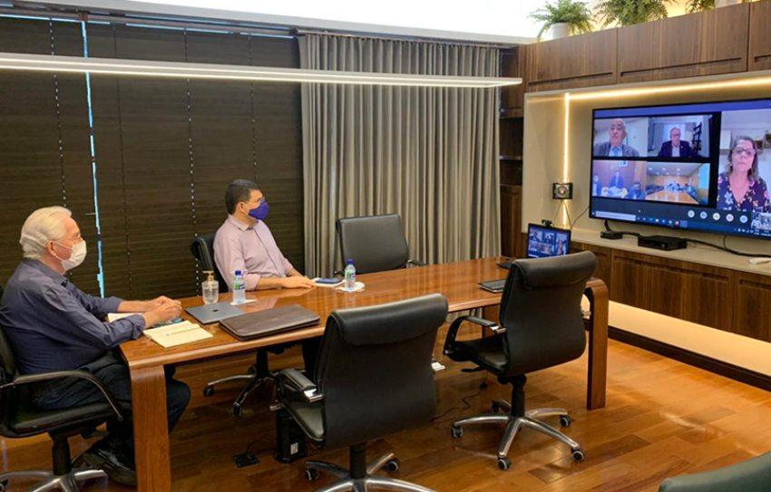 Ricardo Cavalcante discute manutenção de MPVs com o secretário-Executivo da Casa Civil da Presidência da República