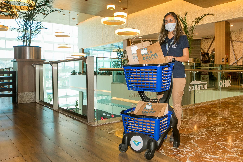 Shoppings do Grupo JCPM neutralizam emissões de carbono em operação de delivery