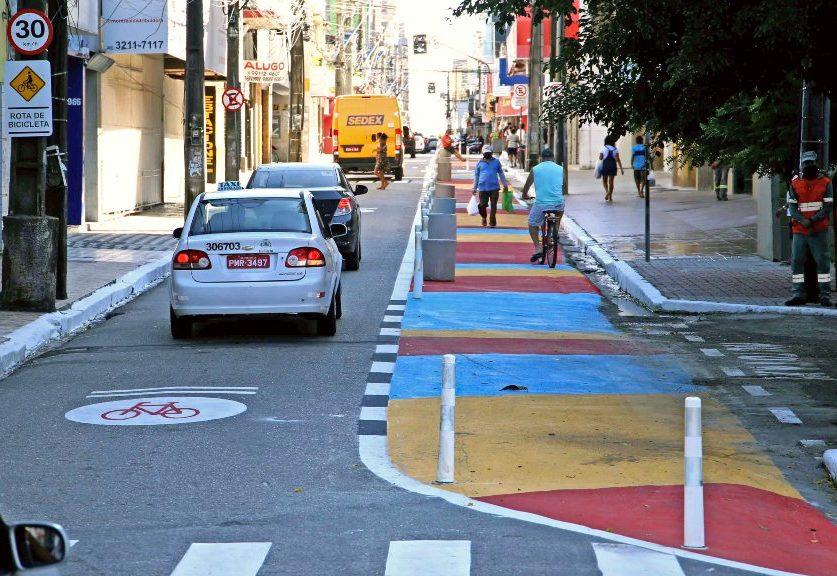 Prefeitura de Fortaleza implanta novo limite de velocidade em vias do Centro