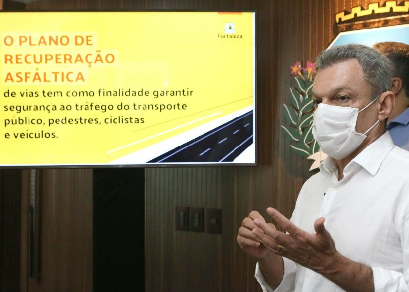 Sarto dá o start na operação que vai recuperar mil vias de tráfego na Capital