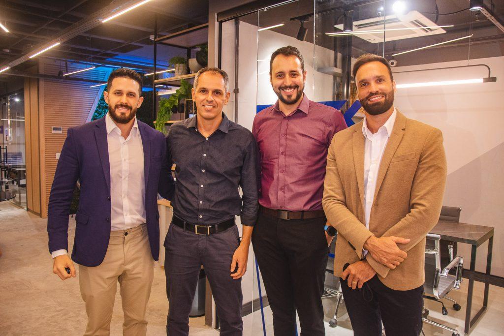 Strauus Nasar, Guilherme Pequeno, Lucas Castro E Eduardo Hamdan