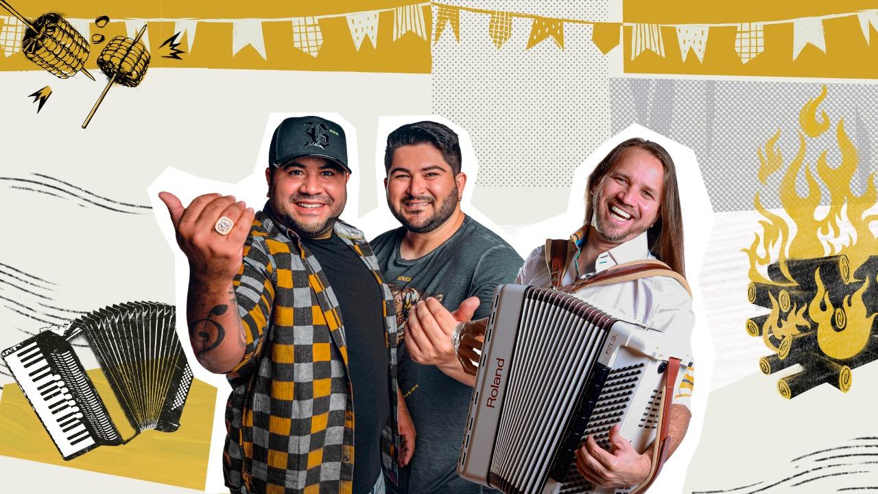 Dorgival Dantas realiza live junina nesta sexta-feira (18) com os Barões da Pisadinha