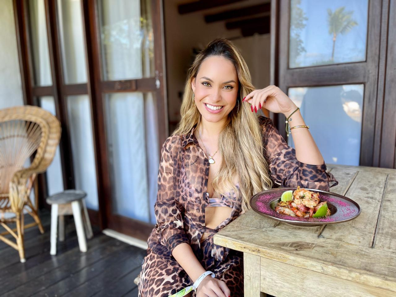 Trancoso foi o destino escolhido pela ex-BBB Sarah Andrade para celebrar seu aniversário de 30 anos