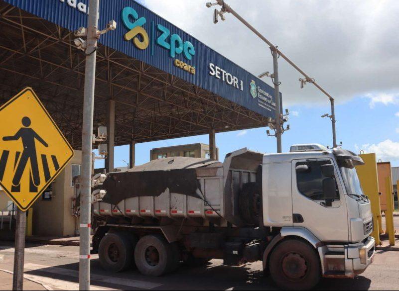 ZPE Ceará supera 5 milhões de toneladas de cargas movimentadas até maio