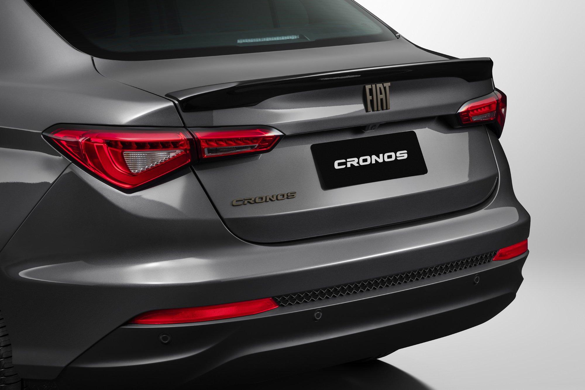 Fiat apresenta a linha 2022 do Cronos com uma série especial
