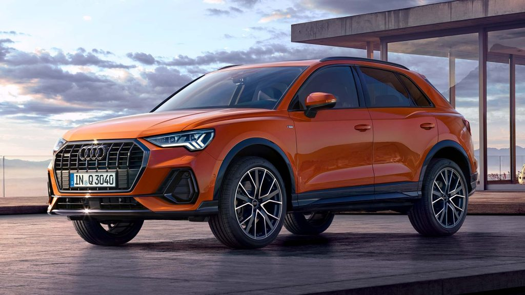 1920x1080 Audi Q3 Front Side View My2021 81001 1